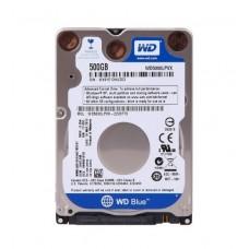 "WD INTERNAL NOTEBOOK HARD DRIVE (BLUE) 500GB 2.5"" SATA"