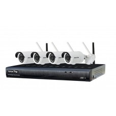 Value-Top 4 Channel Wireless IP Combo Kit-VT-1104WL